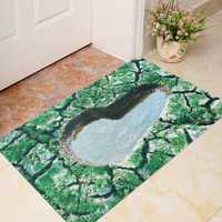 40 x 60cm 3D Natural Views Room Door Mat Kicthen Bathroom Non-slip Rug Floor Carpet