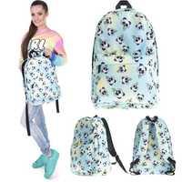 Unisex 3D Print Panda Backpack Travel Rucksack Girl School College Student Bag