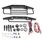 Bon prix Xtra Speed Steel Front Rear Bull Bar Black Axial SCX10 Parts 1:10 RC Car #XS-SCX22120