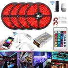 Recommandé 20M 20A 240W SMD5050 IP20 Smart Home WiFi APP Control LED Strip Light Kit Work With Alexa AC110-240V