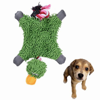 Pet Dog Knot Toy Cute Papa Duck Plush Chew Toy Durable Rope Toy Pet Supplies