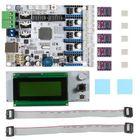 Bon prix Geeetech® 3D Printer Motherboard GT2560 + DRV8825 Driver + LCD2004 Kit