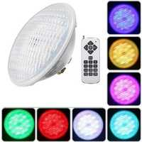 36W RGB Remote Control 108 LED Swimming Pool Light Waterproof Night Light Atmostphere Light
