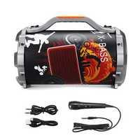BIKIGHT Wireless bluetooth Speaker Stereo Bass Subwoofer Cycling Portable Karaoke DJ System