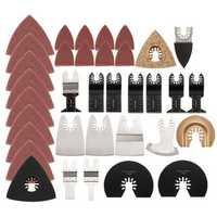 100pcs Mix Oscillating Multitool Saw blade fits FEIN BOSCH Dremel Makita Ridgid Multitool