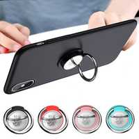 Bakeey Metal 360 Degree Rotation Finer Ring Holder Desktop Kickstand for iPhone Xiaomi Mobile Phone