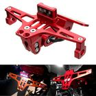 Les plus populaires Motorcycle License Plate Holder Bracket LED Rear Light 12V CNC Fender For YAMAHA BWS
