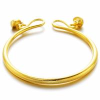 Trendy Copper Gold Plating Adjustable Matte Couple Bracelets