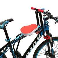BIKIGHT Safety Stable Baby Kid Bicycle Front Seat Cycling Front Tube Children Bike Saddle Chair Seat