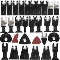 68pcs Oscillating Multitool Saw Blades Kit for Fein Makita Bosch Milwaukee Multitool