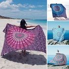Meilleurs prix Honana WX-17 150x210cm Bohemian Style Polyester fiber Beach Shawl Mandala Rectangle Bed Sheet Tapestry