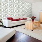 Promotion 12Pcs 3D PVC Wall Paper Panel Tiles Diamond Design Room Background Home Decor Sticker 500x500mm