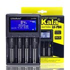 Meilleurs prix Liitokala Lii-PD4 LCD 3.7V 26650/21700/20700/18650/18490/18350/17670/17500/16340(RCR123)/14500/10440 1.2V AA AAA SC C NiMH Lithium Battery Charger