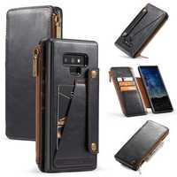 Caseme Vintage Detachable Wallet Card Slots Protective Case For Samsung Galaxy Note 9