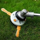Buy at Best Price Dual Use Grass Trimmer Head Plastic Chain Saw with Nylon Line Cutter for Lawnmower Brush Cutter