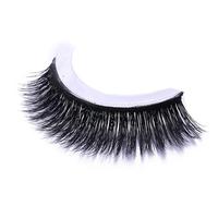Self-adhesive Mink False Eyelashes Natural Curly Thick