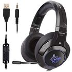 Meilleurs prix K9 Professional LED RGB Lighting Wired Headset Headphone Noise Cancelling With Mic For PS4 XBOX One