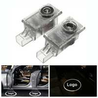 Pair LED Car Welcome Light Door Lamp Ghost Shadow Projector for Volvo