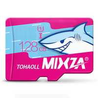 MIXZA Shark Edition Memory Card 128GB TF Card Class10 For Smartphone Camera MP3