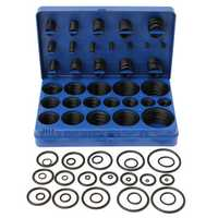 Suleve™ MXRW2 Rubber O-Ring seals Tap Washers Gasket Assortment Plumbing Petrol Diesel 419pcs