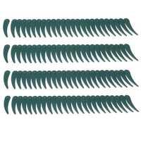 100pcs Plastic Blade Durablade Grass Trimmer Lawnmower Blades For Bosch ART 23/26-18