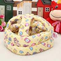 Baby Toddler Safety Helmet Headguard Protector Security Hat Walking Crawl Anti Bumps Adjustable Cap