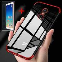 Bakeey Ultra Thin TPU Protective Case Cover+Tempered Glass Screen Protector for Xiaomi Redmi 5 Plus
