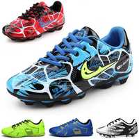 Outdoor Football Boots Artificial Grass Teenager Training Spike Soccer shoes