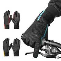 CoolChange Cycling Gloves Winter Thermal Windproof Full Finger Anti-Slip Touch Screen Bike Gloves