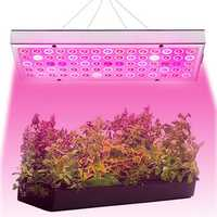 25W 75 LED Plant Grow Light Lamp Full Spectrum For Flower Seeds Greenhouse Indoor