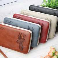 Baellerry Women Faux Leather Multifunctional Card Holder