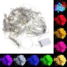 Offres Flash 6x3M Outdoor Xmas Tree String Fairy Wedding Curtain Light Party Lamp 220V