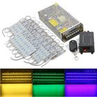 Buy 70PCS 5 Colors SMD5050 LED Module Store Strip Light Front Window Lamp + Power Supply + Remote DC12V