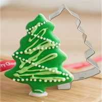 Stainless Steel Christmas Tree Cookie Cutter Mold
