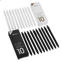 10pcs/set Original Xiaomi Mijia Kaco 0.5mm Gel Pen Smooth Writing Durable Signing Pen Black Refill