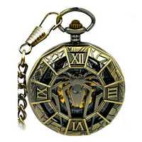 JIJIA JX001 Big Spider Mechanical Watch Pocket Watch