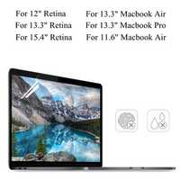 PET Clear Transparent Anti Glare Screen Protector For Macbook Air 11.6
