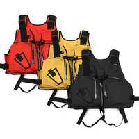 Adult Life Jacket Sailing Swimming Fishing Water Sports Gear Clothing Life Buoyancy Vest