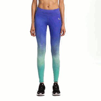 Women Compression Cycling Sports Leggings Elastic Tights Female Fitness Running Trousers Gym Slim Pants