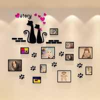 11 PCS Multi Photo Frame Frames Love Family Picture Wall Decor Photo Frame Gift