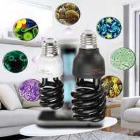 AC110V-127V E27 15W 40W 365NM Spiral UV Ultraviolet Violet Light Bulb Sterilizer Lamp