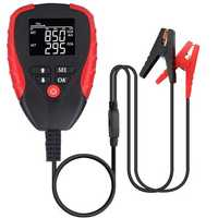 Digital 12V Car Battery Tester Automotive AH CCA Voltage Analyzer Vehicle Load Diagnostic Tool