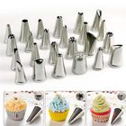 Acheter au meilleur prix Honana CF-PT02 24Pcs Flower Pastry Cake Icing Piping Nozzles Decorating Tips Cake Baking Tools