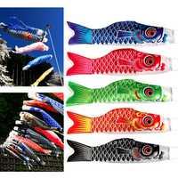 Japanese Carp Flag Carp Banners Windsock Sailfish Koinobori Sailfish Wind Streamer Multicolor Fish