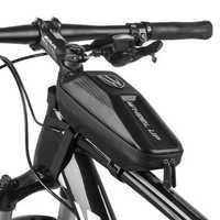 WHEEL UP Top Tube Front Beam Bag MTB Road Cycling Bag EVA Case Anti Pressure Shockproof Rainproof Bike Bag
