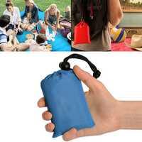 KCASA KC-PMP2 150cm Outdoor Travel Camping Folding Picnic Handy Mat Portable Pocket Waterproof Beach Mat With Storage Bag