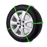 10xUniversal Car Tire Snow Antislip Chains Belt Winter Wheel Anti-Skid Vehicle