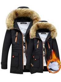 Winter Hooded Long Sleeve Thicken Warm Coat
