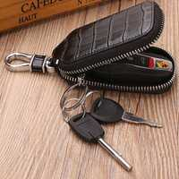 Men Genuine Leather Texture Car Key Case Key Bag Key Holder