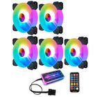 Discount pas cher Coolmoon 12cm RGB Cooling Fans Quiet Computer Case Chassis Fan Computer PC Cooler for PC Computer CPU